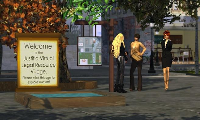 Justitia Virtual Legal Resource Village