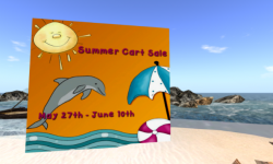 Summer Cart Sale