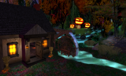 Sleepy Hollow Halloween Village