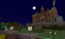 Halloween Haunted Sim by Nance Clowes