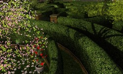 The Garden Maze in Falconmoon