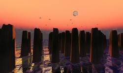 The Pillars by Oberon Onmura