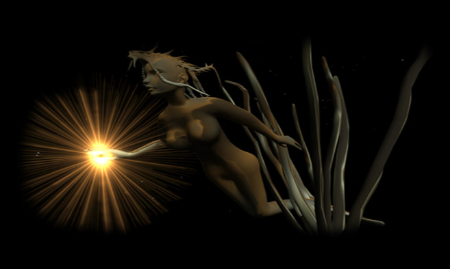 Light Thoughts 3 by Mario2 Helstein