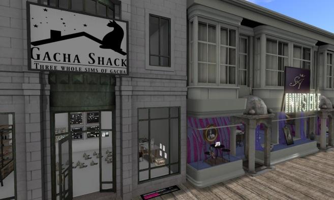 Gacha Shack Resale Yard Sale