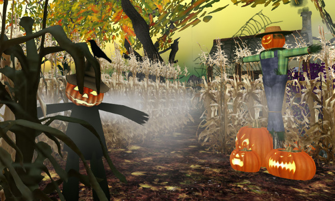 Haunted Corn Maze Trick & Treat Hunt