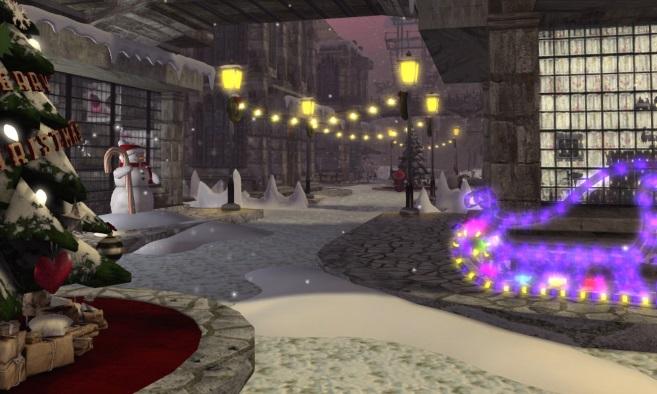 Lamia's Winter Town