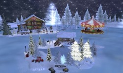 Snow Globe Holiday Village
