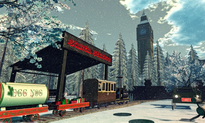 Santa's Grotto and Mini-Railway