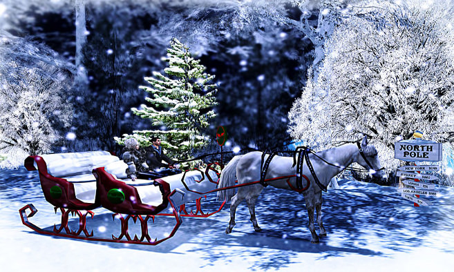 The North Pole Sleigh Ride Adventure!