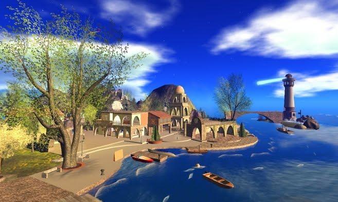 Auroro Island Second Life
