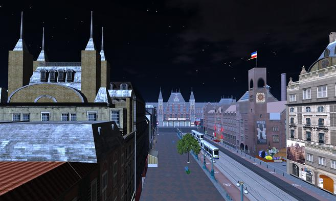 Image result for amsterdam in Second Life)