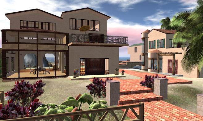 Galland Homes Second Life