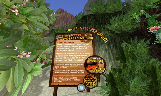 destination secret underground base