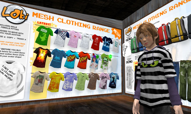 Loki Mesh Clothing Range