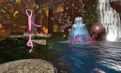 Breast Cancer Tribute Garden