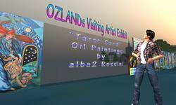 OZLAND Visiting Artist Exhibit