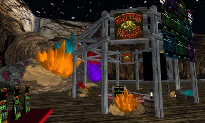 Skill Gaming Region: Glitter Valley