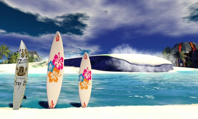 Kona Beach and Surfing