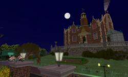 Halloween Haunted Sim by Nance Clowes