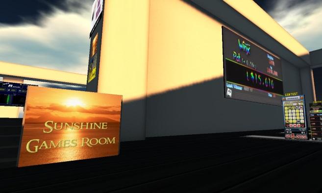 Skill Gaming Region: Sunshine Games Room