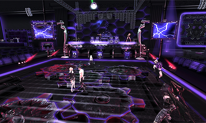 Club Synthetik Bunker | Second Life