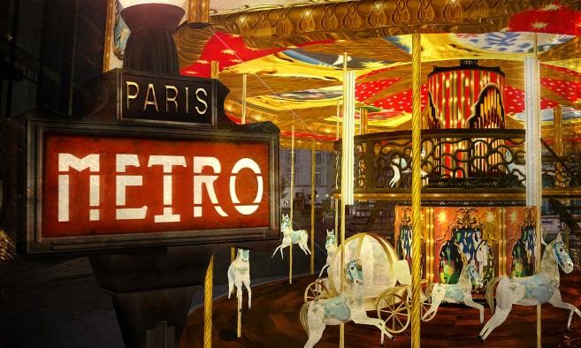 Paris Metro Couture