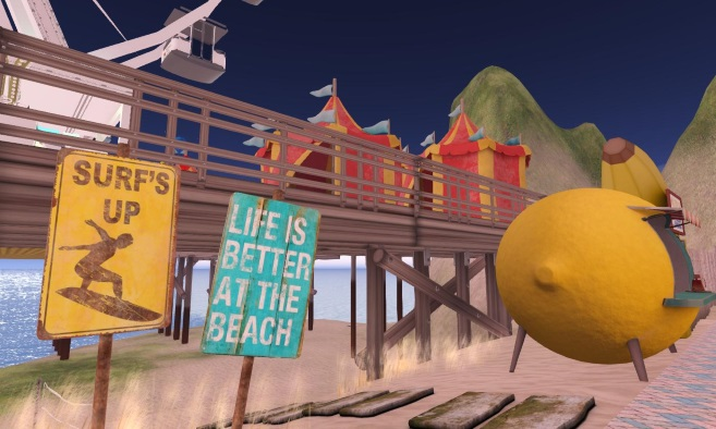 Beach City Community Sim