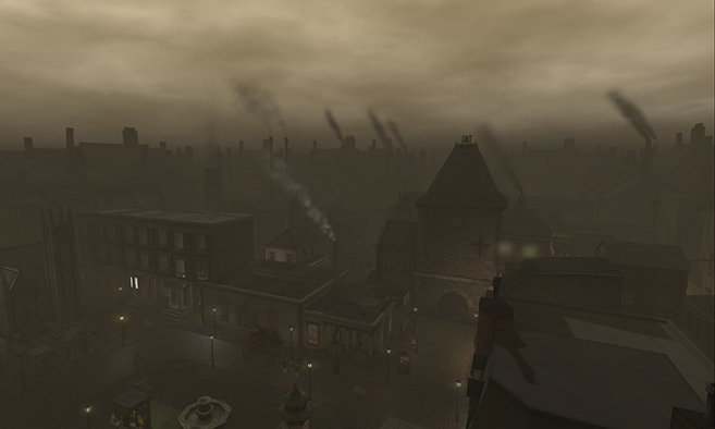 Victorian London in Time Portal