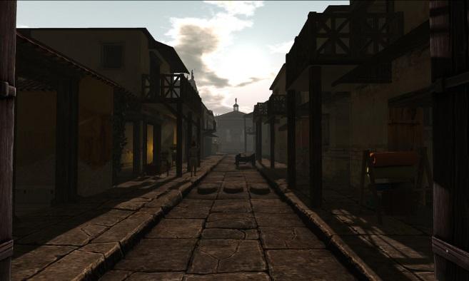 Classic Rome in Time Portal
