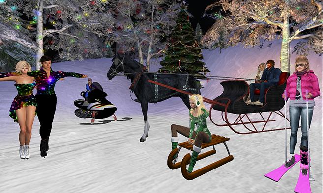 Aero Pines Park Winter Festival