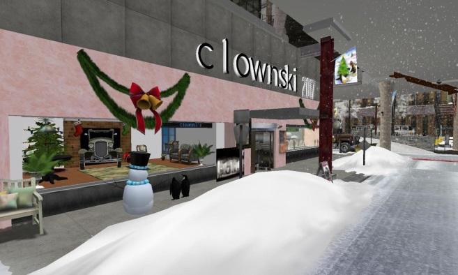 Clownski's Store and Lapara Winter City