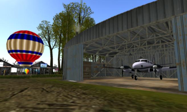 Unity Sansara Adventure Airfield