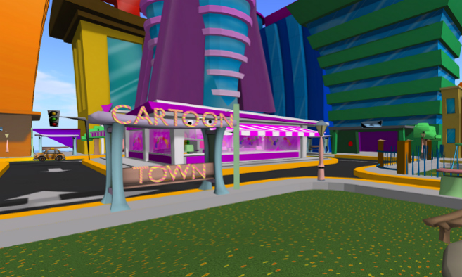 Chedderbarrel - Cartoon Town