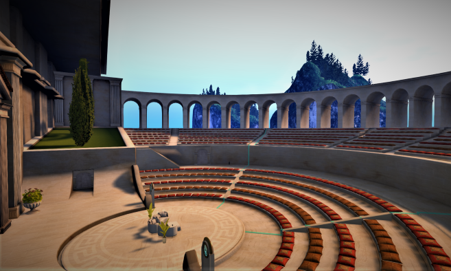 Second Life Town Hall 3