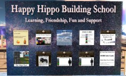 Happy Hippo Building School