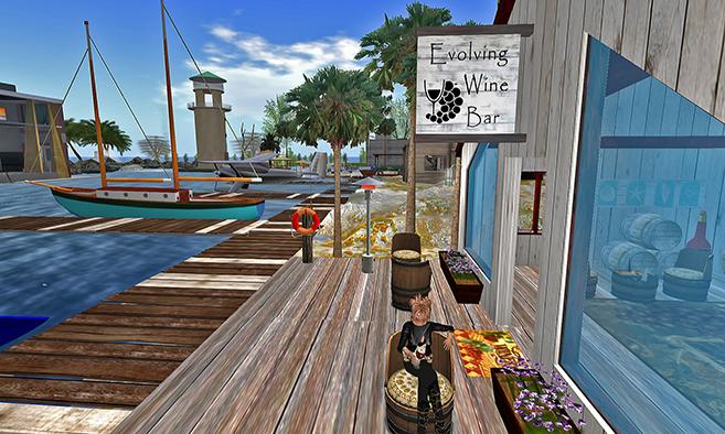 Evolving Images Wine Bar