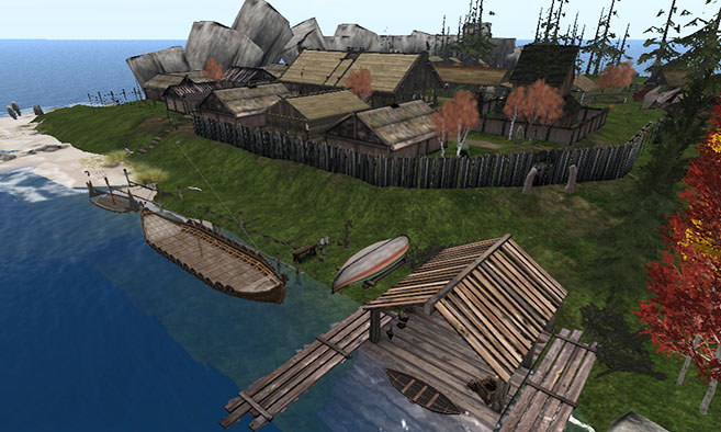 Second Life Site