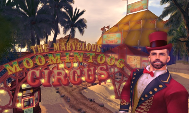Marvelous Moomintoog Circus