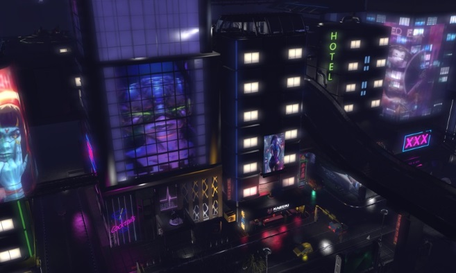 Nunox Cyberpunk City