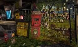 Gators MC Worldwide Haunted Maze