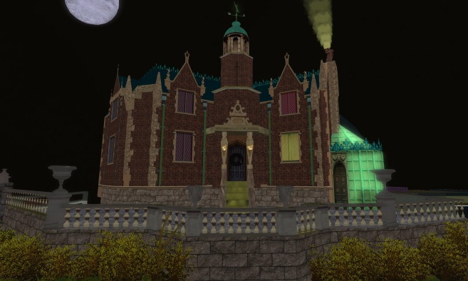 13th Season Haunted Mansion Ride