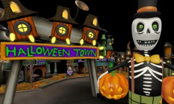 2018 Halloween Town