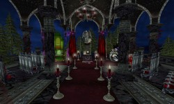 Dark Romance Wedding Cathdral