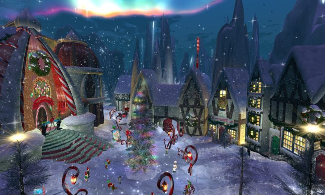 North Pole Village & Santa's Workshop