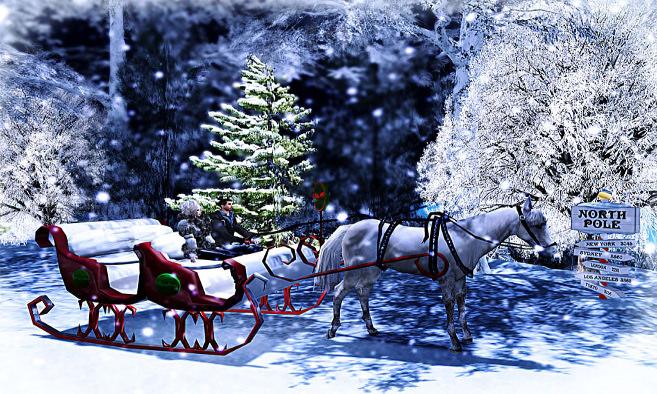 The North Pole Sleigh Ride Adventure!