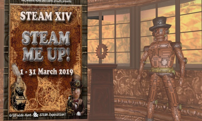 Steam: The Hunt XIV and Exposition