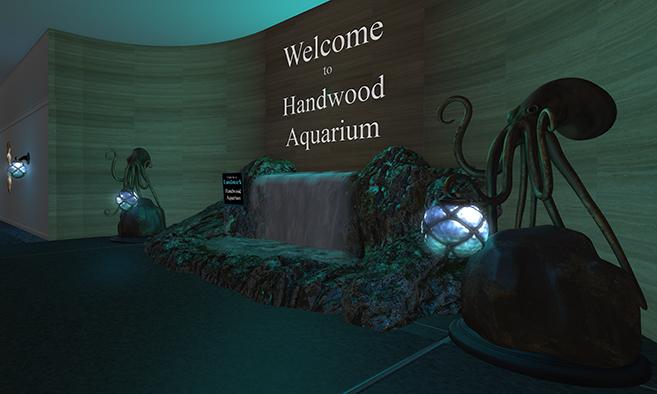 Handwood Aquarium