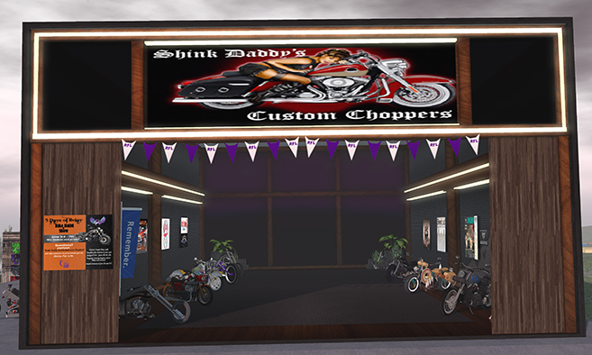 Shink Daddy's Custom Chopper Museum