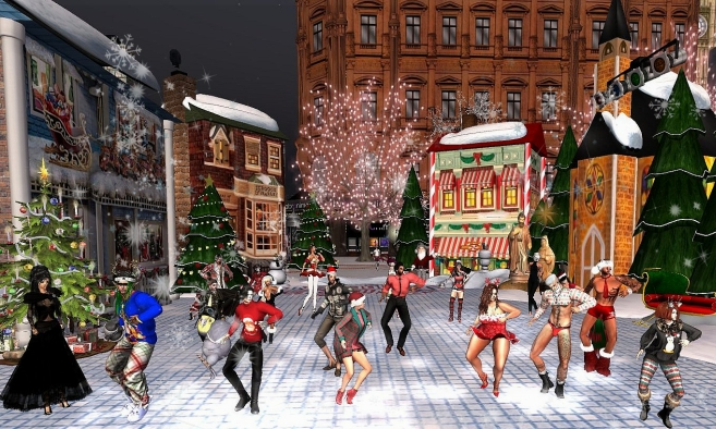 Christmas in London City
