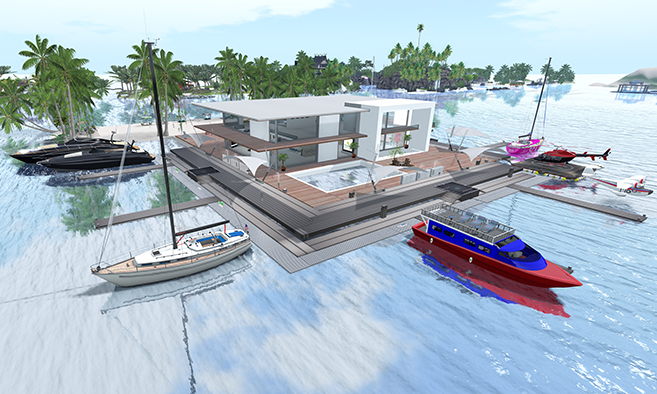 Coral Estates Sailing Islands